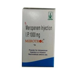 MEROTROL 1000 MG INJECTION