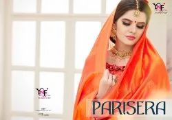 Parisera Silk Nylon Art Silk Saree By Yadu Nandan Fashion