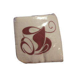 White Plain Coctail 1 Ply Tissue Paper Napkin