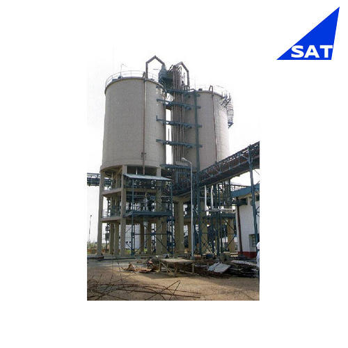 Carbon Steel Silo Fluidizing System, Height: 10-20 feet