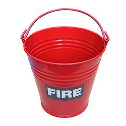 Red Fire Bucket, for Industrial
