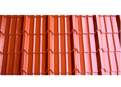 Color Coated Tiles Sheet