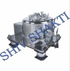Basket Type Top Discharge Centrifuge Machine, Capacity: 600 kg/Batch