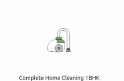 Complete Home Cleaning 1BHK Service