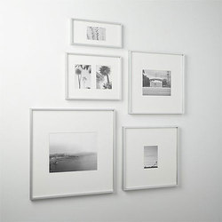 Aluminum Silver Photo Frame