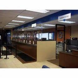 Bank Interior Work Service