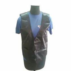 Black Polyester Hotel Staff Waistcoat, Size: S- XL