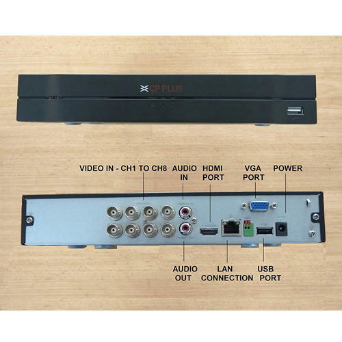 CP Plus CP-UVR-0801E1-V4 8CH 1080P Lite Cosmic HD DVR
