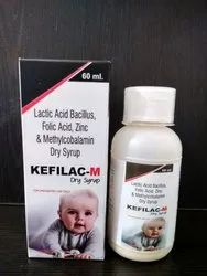 Lactic Acid Bacillus, Folic Acid, Zinc and Methylcobalamin dry syrup
