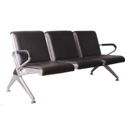 3 Seater Cushioned Public Airport Waiting Chair