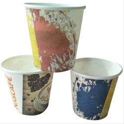 Disposable Drinking Paper Cup, Capacity: 220 mL