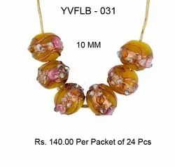 Lampwork Fancy Glass Beads - YVFLB-031