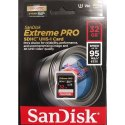 Sandisk Extreme Pro 32 Gb Sdhc Class 10 95 Mb/s Memory Card, Size: Microsd