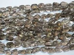 Smokey Quartz Tumble Nugget Stone Beads