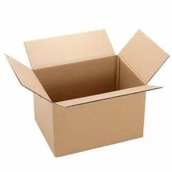 Double Wall - 5 Ply Rectangle 5 Ply Corrugated Box, Box Capacity: 6-10 Kg