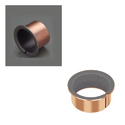 Plain Self Lubricating Flange Bronze Bush, Maximum Sliding Speed: Dry Friction - 2.5 M/s