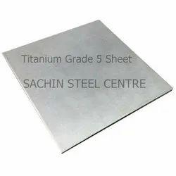 Grade 5 Titanium Sheet