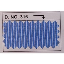Mesh Corporate Uniform stripe Fabric, GSM: 100 - 150