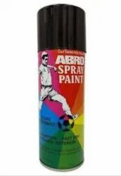 Black Abro Spray Paint Aerosol, For Industrial Use, Packaging Type: Bottle