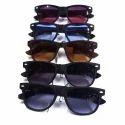 Male Black, Brown Men Wayfarer Sunglasses, Size: Free