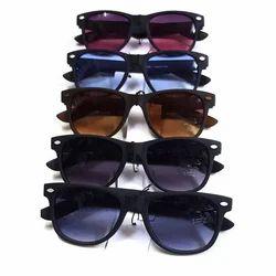 Male Black,Brown Men Wayfarer Sunglasses, Size: Free