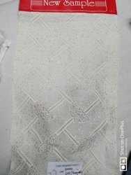 Viscos Georgette Embroidery Fabrics