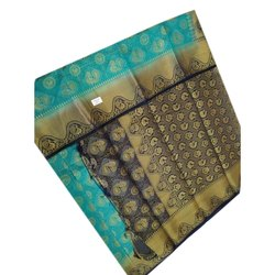 Festive Wear Ladies Balatan Saree with Blouse Piece