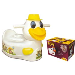 White and Yellow Duck Potty Seat, Packaging Type: Box, 3-12 Months