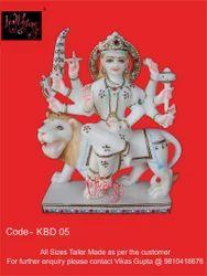 White Durga Maa Statue