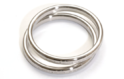 Silver Spiral Gasket, For Commercial, Industrial, Thickness: 5-10 Mm
