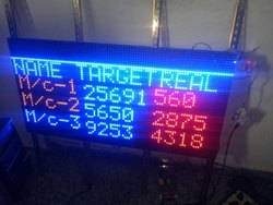LED Production Information Board, Packaging Type: Corrugated Box
