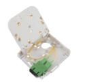 Fiber Optic Termination Box FTTH Faceplate
