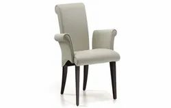 Polyester Grey,Brown Stanley Lulu Dining Chair, Set Size: Single