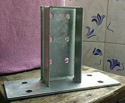 Steel Coloume Base Clip (Kon-912, C-100), For construction perpous