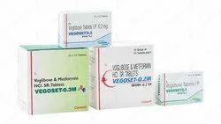VEGOSET- 0.2M /0.3M (Voglibose and Metformin HCl (SR) Tablets)