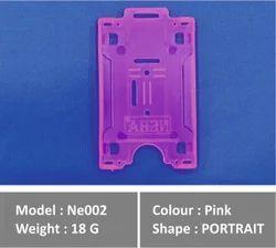 ID Card Holder Pink