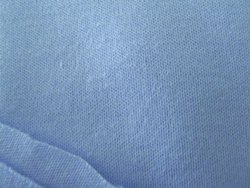 Blue Cotton Knitted Jersey Fabric