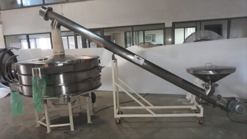 Salt Conveying and Screening System