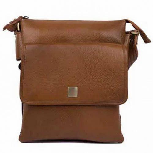 3815c5ef316f Brown Leather Men Messenger Bag
