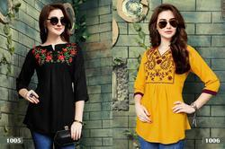 Stylish Party Wear Rayon Top