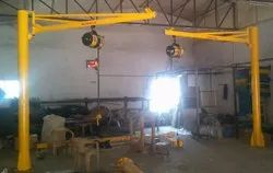 Pillar Mounted Slewing Jib Crane
