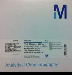 Rectangular TLC PLATE - MERCK, Capacity: 25 Plates, For Chromatography