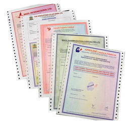 Printed Offset And Digital Share Certificates, Packaging Type: Box