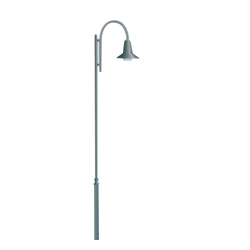 GI Tubular Street Light Pole