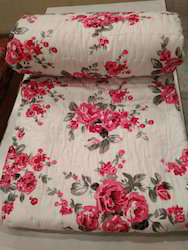 Double Bed Printed Cotton Quilt