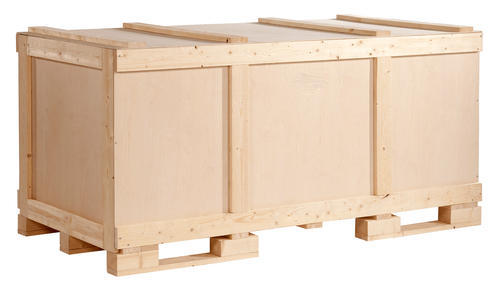 Industry Packing Wooden Plywood Boxes , Box Capacity : 1 Kg - 15 Ton