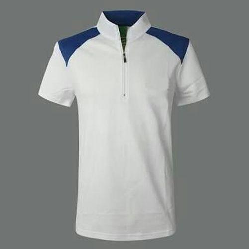 zip t shirt for men