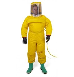 Not Reflective Chemical Pressure Suit