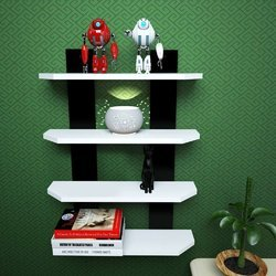 Multi Color 30 X 20 X 7 Inch Wall Shelves