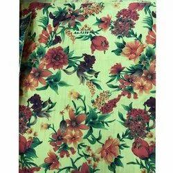 Flower Design Digital Printed Fabric